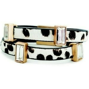 T&J Designs Jewelry - $12 SALE! Animal Print Double Band Bracelet