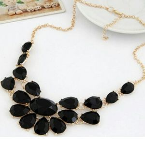 Jewelry - Just In!!! Black Statement Necklace!