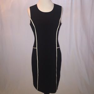 Calvin Klein Paneled Sheath Dress