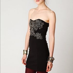 Free People Dresses & Skirts - FREE PEOPLE Beaded NEW DELHI Tube Dress /SM