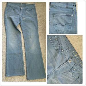 7 For All Mankind Denim - 7 FAMK Jeans 28X30
