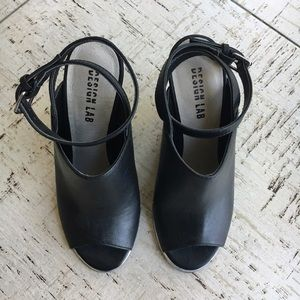 Lord & Taylor Shoes - Design Lab Yehocheva Wedge In Black Size 6