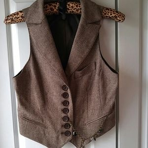 Robert Rodriguez  designer wool vest. Sharp!