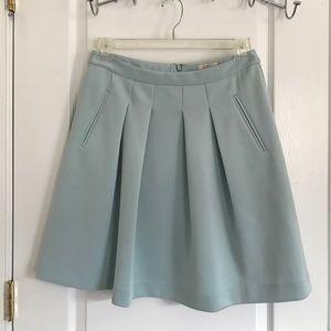 LOFT pale blue skirt size 6