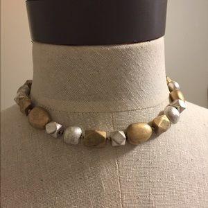 Jewelry - Sigrid Olsen Metal stone choker necklace