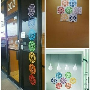 Other - Chakra Wall Sticker Set of 7
