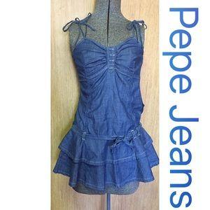 Pepe Jeans Dresses & Skirts - PePe Jeans💥Denim Dress