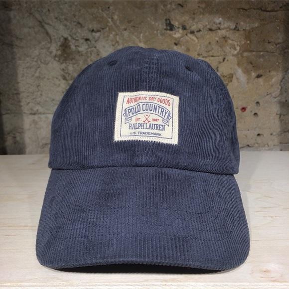 Ralph Lauren Polo Corduroy Sport Cap