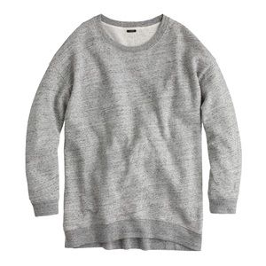 JCREW oversized sweatshirt size S