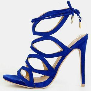 Shoe Republic LA Shoes - Cut-out Stiletto Sandals