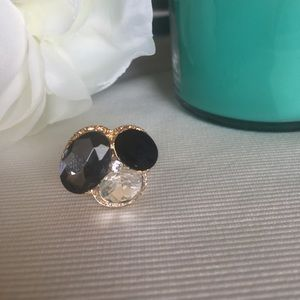 Jewelry - NWOT fr: Spain!  Tri colored stone ring