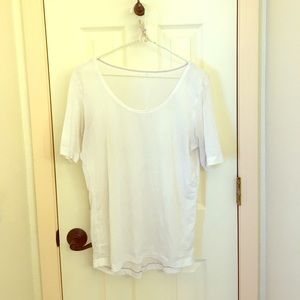 lululemon athletica Tops - White Lulu Lemon shirt