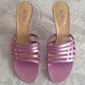 BCBG Shoes - BCBG Paris pink sandals