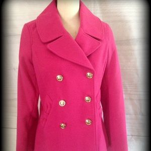 Tommy Girl Pink Pea Coat.