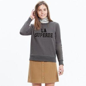 Madewell x Sezane La Superbe sweatshirt size L