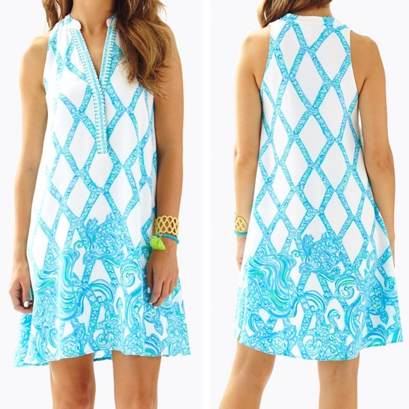 Lilly Pulitzer Dresses & Skirts - Lilly Pulitzer Anne Trapeze Dress