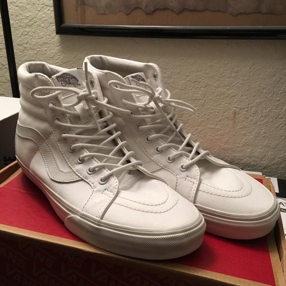 Vans Shoes | Vans Sk8hi Triple White