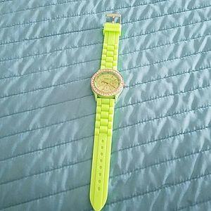Accessories - Neon green watch