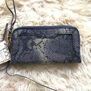 Aimee Kestenberg Handbags - AIMEE KESTENBERG Gala Clutch Soft Ink Cobra Wallet