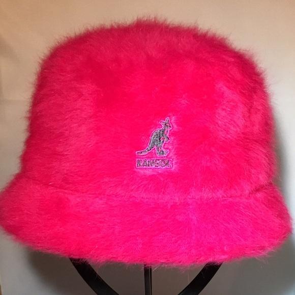 9bdaf518351 Pink Kangol Furgora Bin Bucket Hat💕