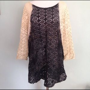 Free People We The Free lace tunic M