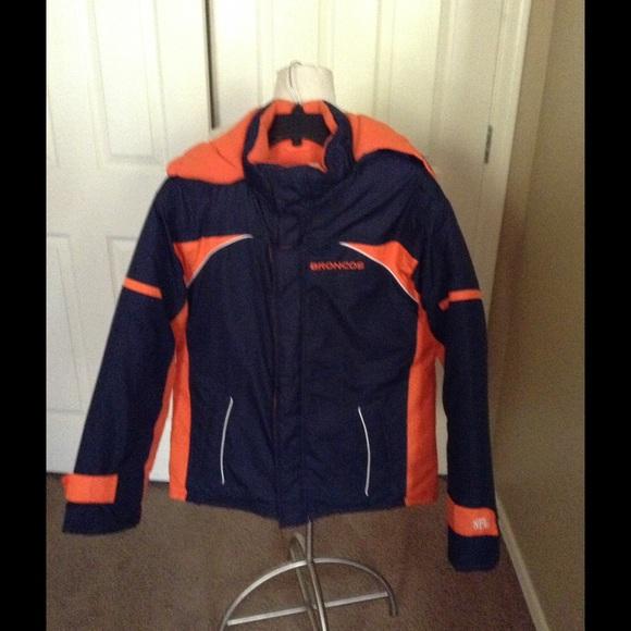 5504f94b NFL Jackets & Coats   Denver Broncos Winter Jacket Sz 1618 79   Poshmark