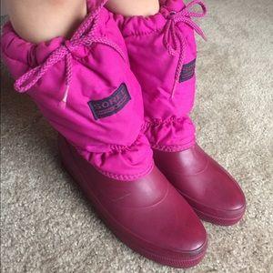 Sorel Other - SOREL ❄️☃️adorable purple snow boots girls
