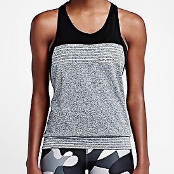 Nike Dri Fit Knit Loose Fit Training Tank Top