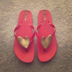 Ipanema Shoes - Rubber Valentine Flip-Flops