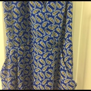 Express Pants - MOVING SALE❗️Express Blue Paisley Romper