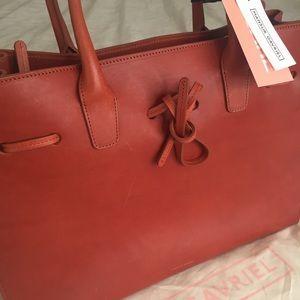 bb8b0bfcd309d Mansur Gavriel Bags - Mansur Gavriel Large Sun Leather Tote Bag