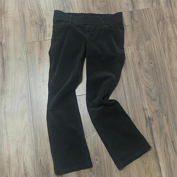 6f59392530cfd Old Navy Pants | Maternity 4 Gray Corduroy Boot Cut | Poshmark