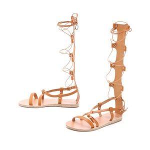 Ancient Greek Sandals Shoes - Ancient Greek Sandals Sofia Gladiator Sandals, 36