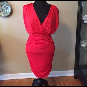 Alice + Olivia Dresses & Skirts - Alice & Olivia Red Backless Dress Size Small