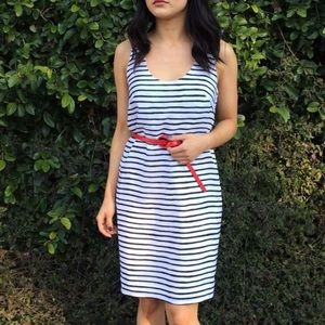 Striped J. Crew Factory Dress