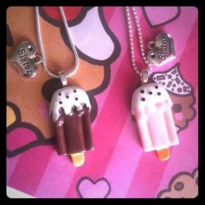 Jewelry - 2Ps Sisters ice Pop necklaces