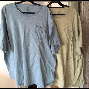 Fruit of the Loom Other - 2 Men's cotton t-shirt bundle