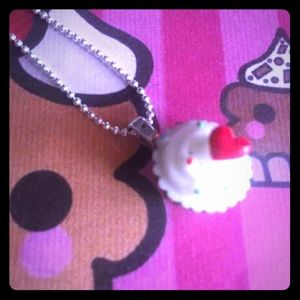 Jewelry - Chocolate Cup Cake necklace