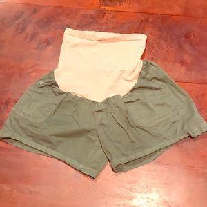 Motherhood Maternity Pants - Motherhood Maternity Cargo Shorts