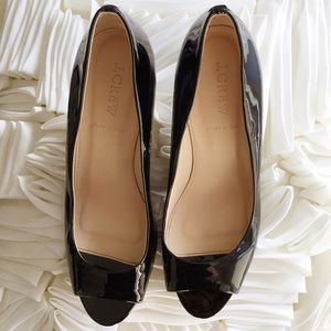 J. Crew Shoes - J.Crew Peep Toe Pumps