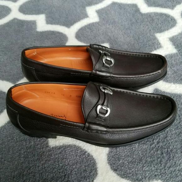 3eb7c5c1794 Santoni Italian Leather Horsebit Loafers