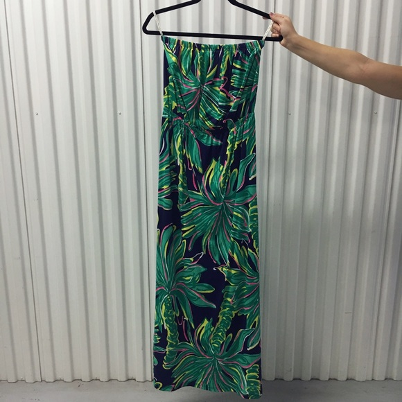 Lilly Pulitzer Dresses - SALE🎉Lilly Pulitzer Marlisa Maxi In Tiger Palm