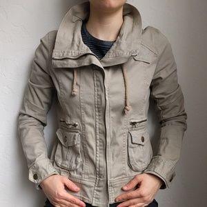 Angel Kiss Jackets & Blazers - Tan detailed jacket