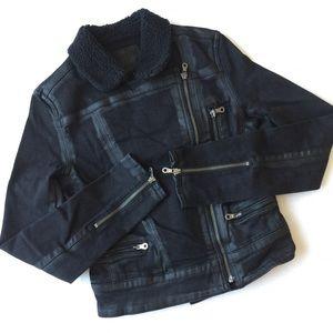 PAIGE Coated Denim Jacket