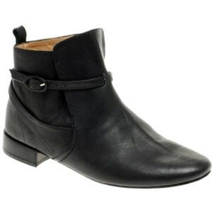 Repetto Shoes - Repetto Mec Buckle Ankle Boot in Black Size 6.5