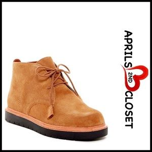 MIA Shoes - ❗1-HOUR SALE❗SUEDE OXFORD ANKLE BOOTS