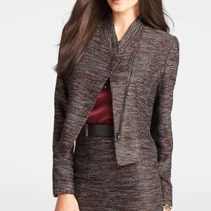 Ann Taylor Metropolis Tweed Jacket