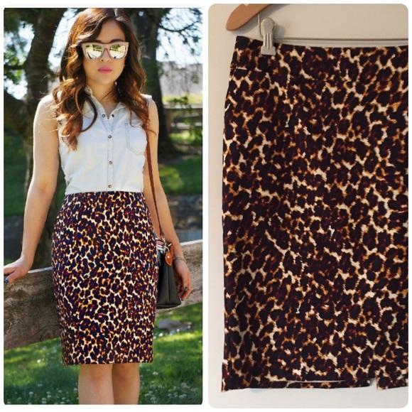 4d18365762 Merona leopard print pencil skirt sz 8. Classy! M_589b940c2fd0b7e534043d82