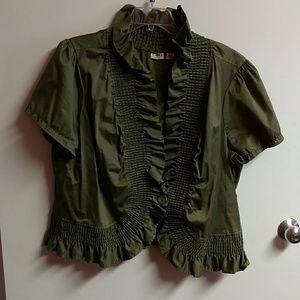Cato Jackets & Blazers - Green jacket