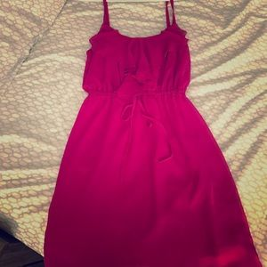 Fuschia dress size Medium